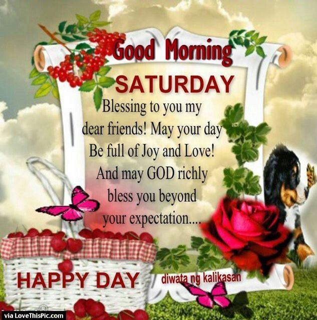 17 Best Images About Saturday Blessing On Pinterest