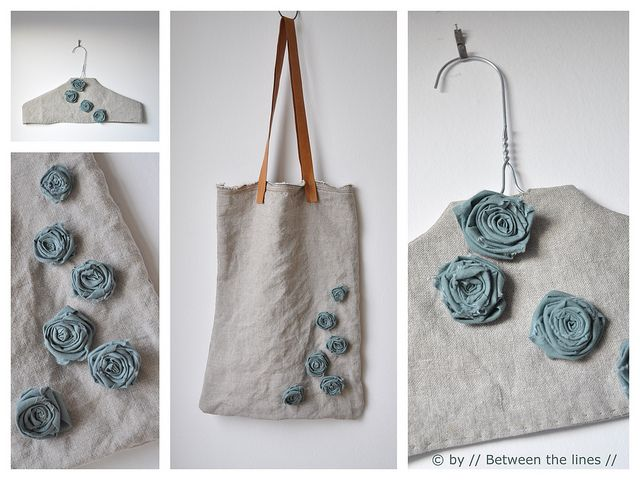 DIY Gift Ideas #2 :: Say it with (fabric) flowers...