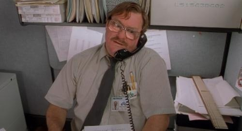 Stephen Root in 'Office Space'