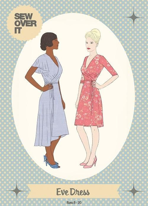 Sew Over It - Eve Dress Sewing Pattern | I don\'t have time to sew ...