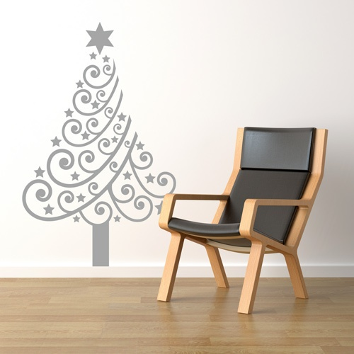 Spin Collective UK - Christmas Tree Wall Sticker