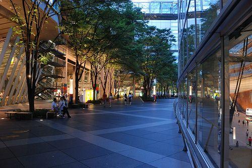 Plaza in Tokyo International Forum 2