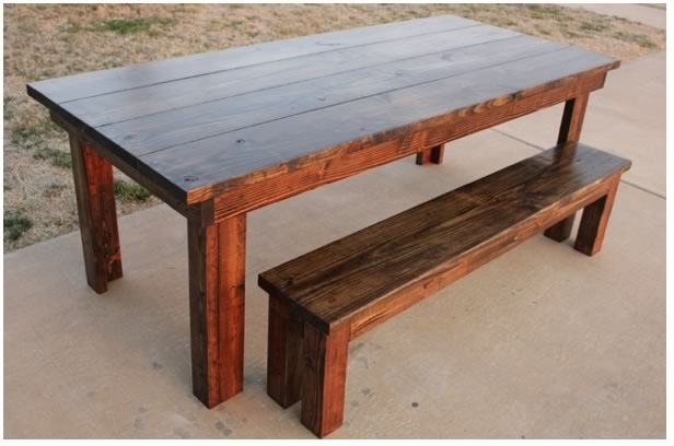I WANT THIS!!!! furniture i found on carpenterjames.com: James Of Arci, Farmhouse Dining Tables, Wood, James Jam, Kitchens Tables, Dining Rooms Tables, Farmhouse Tables, Tables Benches, Sweet Farmhouse
