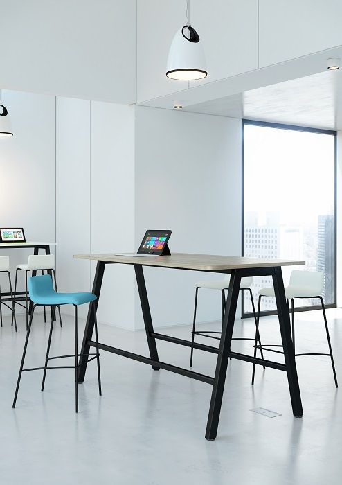 Office Problems Solved » Tall Tables | High Tables | High Benches