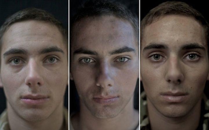 Fotos mostram como soldados mudam durante a guerra http://ift.tt/28PA32e