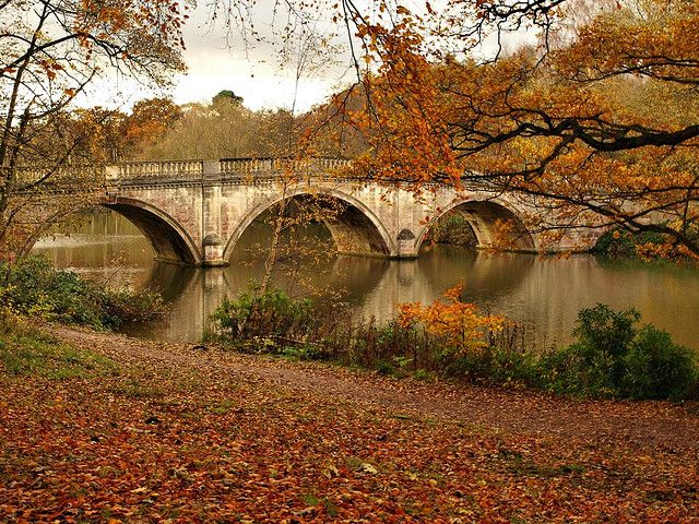 Clumber Bridge, Sherwood Forest, Nottinghamshire, England