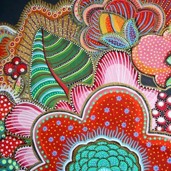 100 Anleitungen für Zentangles und Mandalas zum Herunterladen und Verwenden