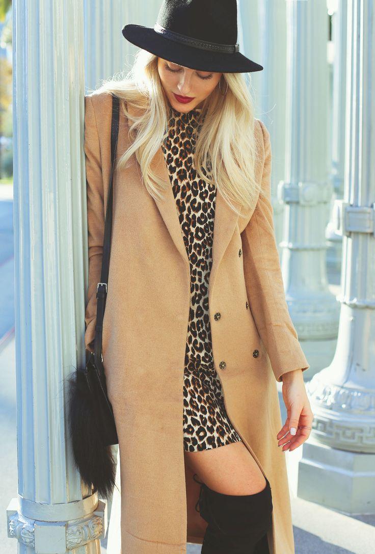 Camel Coat + Leopard