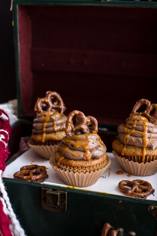 Death By Butterbeer Cupcakes | Half Baked Harvest