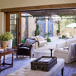 There's nothing like letting the fresh air in Southern Living's 2011 Idea House - Texas