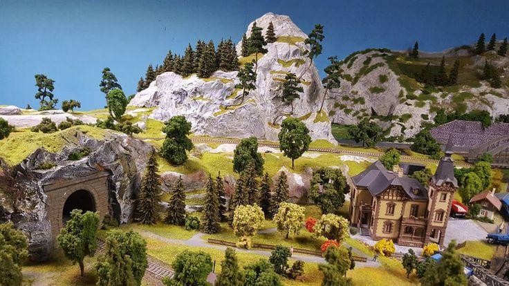 The Kingdom of Railways the biggest interactive model  #prague #travel #kingdom #railway #kingdomofrailways #interactive #model #train #andel #smichov #interior #galaxys6