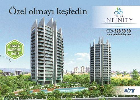 Biz yaptık siz keyfini sürün. Örnek dairemiz hazır ziyaretinizi bekliyor. www.gulerinfinity.com 03243285050 Yenişehir / Mersin