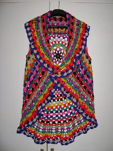 Arm Knitting Vest : Best ideas about crochet circle vest on pinterest