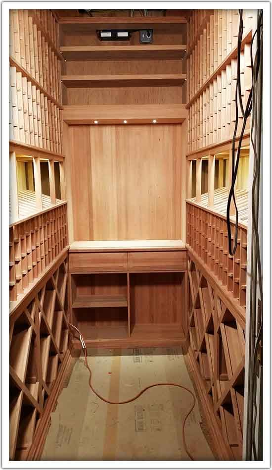 Less Is More With Wine Cellar Closets - With a wine cellar closet, you don't need an especially large space in your home. The focus is on converting that unused space like an old pantry, coat or broom closet, storeroom, or other similar area into spanking new storage for your wine collection. And that's not all! With the help of the right racking units, it will be a wine cellar that will grow along with your collection.