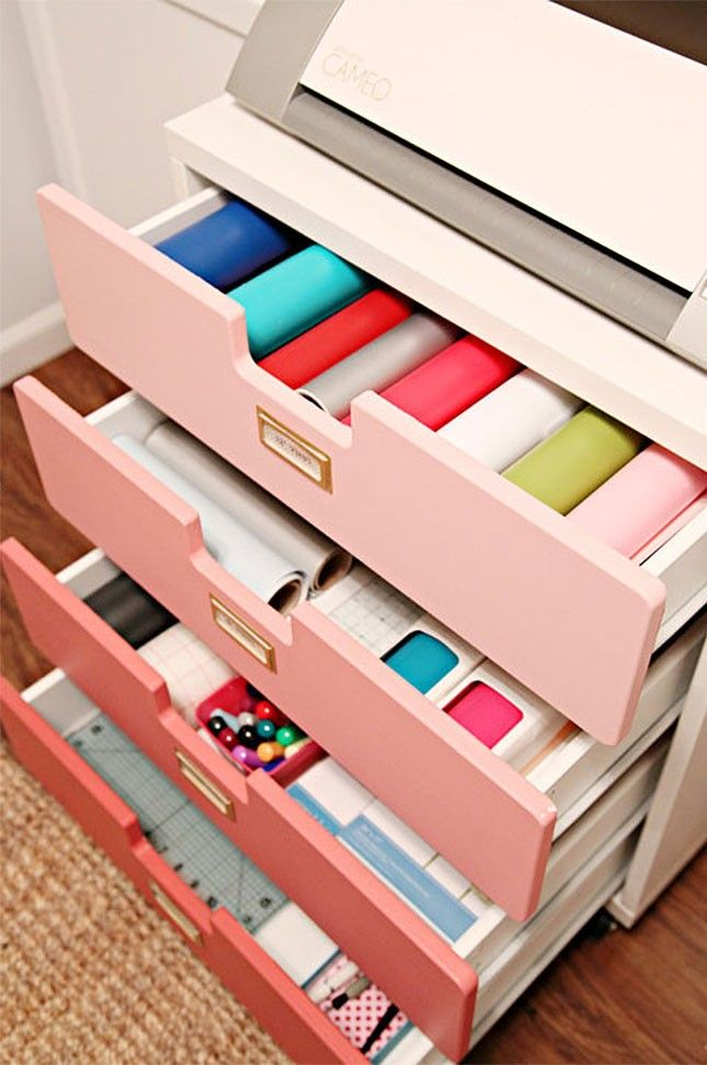 f20e256f8 17 IKEA Hacks That'll Answer All Your Craft Storage Woes | Home Decor |  Craft storage, Space crafts, Craft room storage