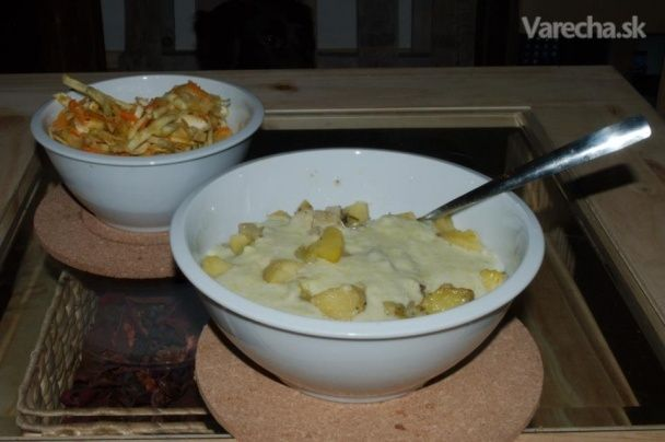 Zapekané zemiaky s feniklom - Recept