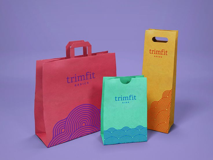 Packing for children's socks brand Trimfit. Design by Booth & Studio Scope.
