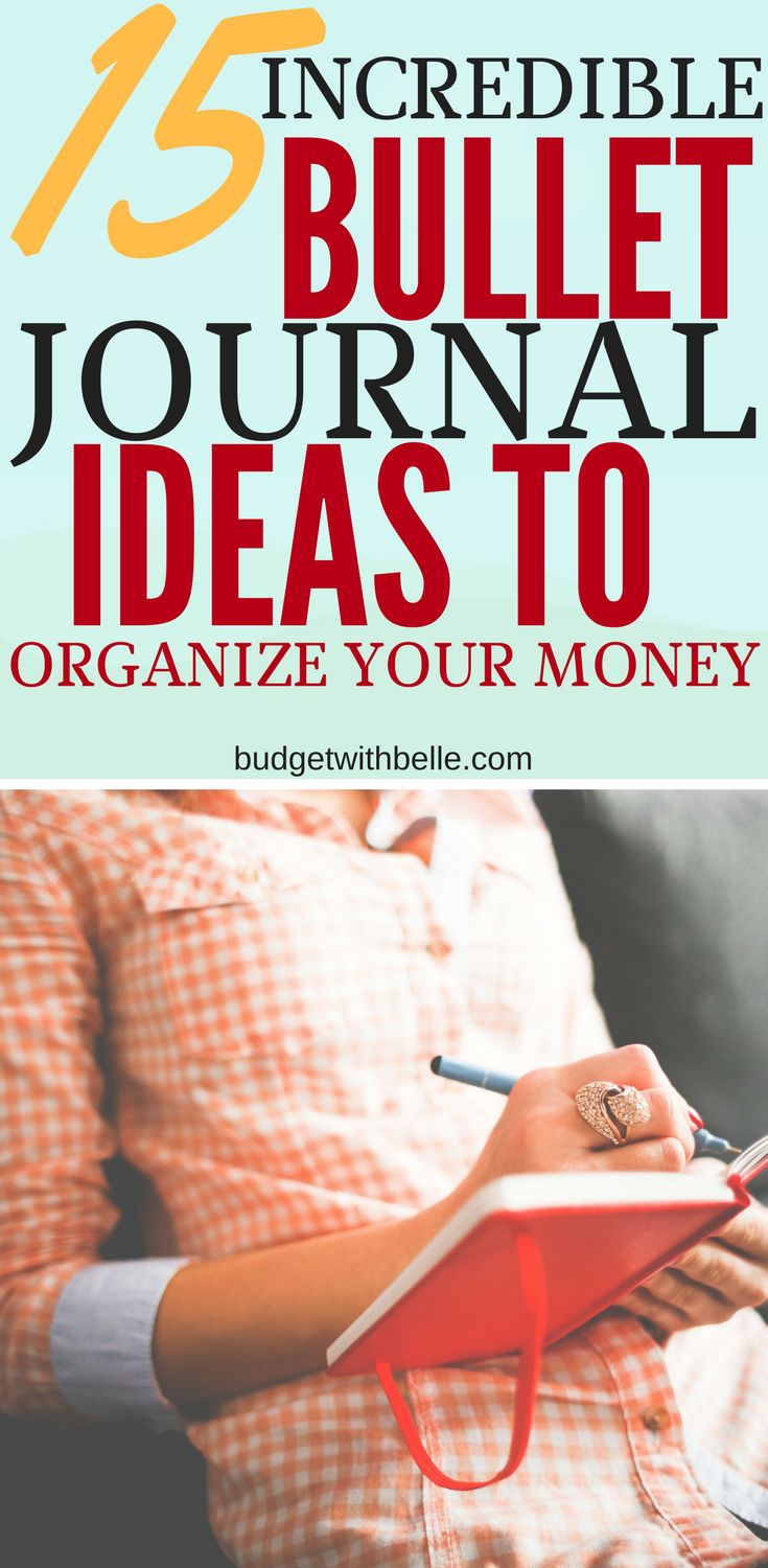 Awesome ways to use your bullet journal as a savings tracker, money layouts, spending log spread, budget planner and more. Get your finances in order with your Bujo!