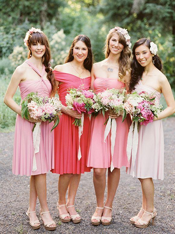 Dessy bridesmaid Twist Dress giveaway