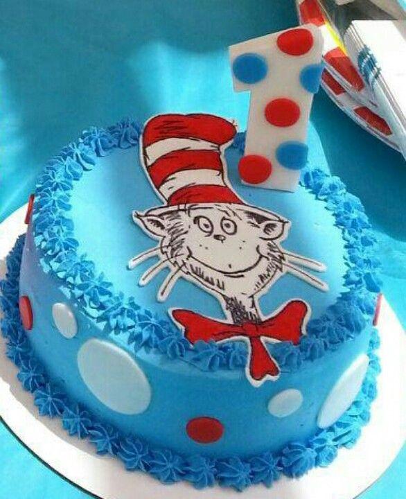 Dr Seuss Birthday Cake Coloring Sheet