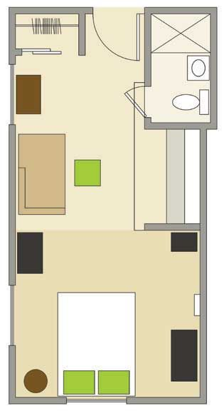 22 best images about floor plans on pinterest square meter small apartments and beautiful - Pinterest decorating small spaces plan ...