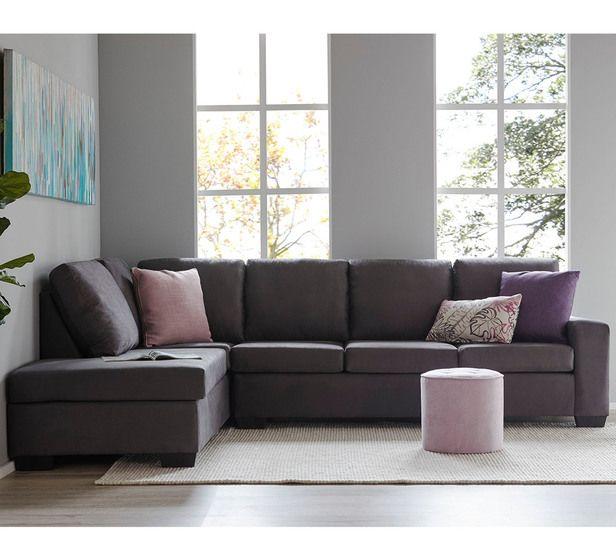 Drake 5 Seater Modular Chaise Chaise Furniture Fantastic Furniture