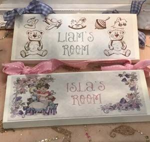 Personalised Wooden Room Signs   Buy Now