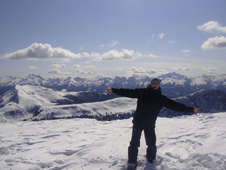 Val di Fiemme, Italy. Enjoying skiing & scenery.