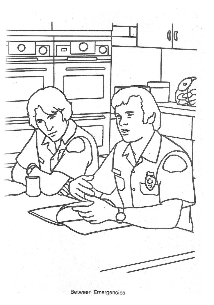 Emergency tv show coloring pages sketch coloring page for Tv show coloring pages