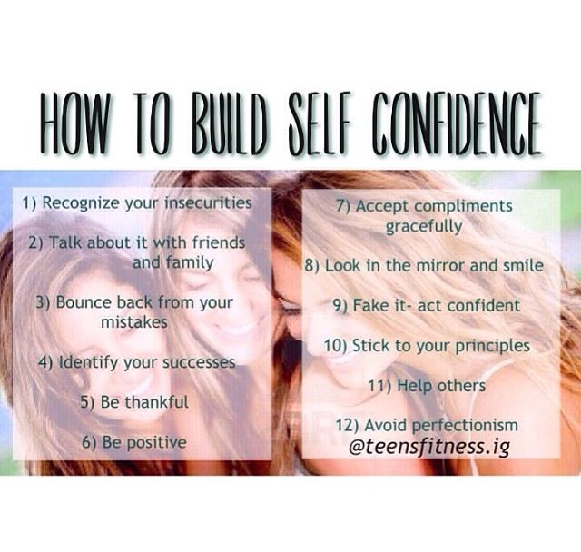How to build confidence!