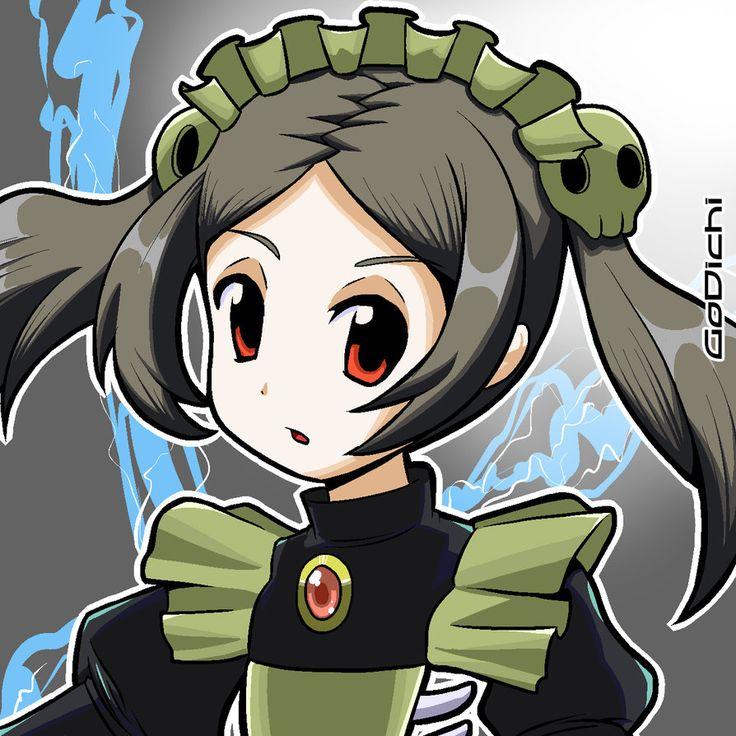 Bloody Marie-Skullgirls Portrait by GoDichi