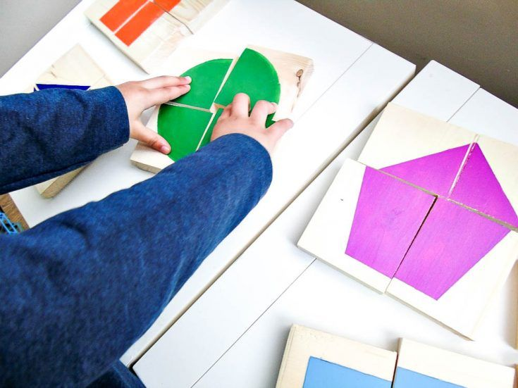 DIY Wooden Shapes Puzzles • Grillo Designs