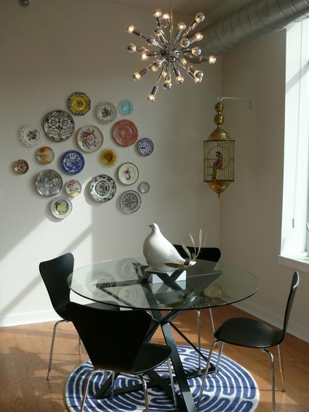 I am going to have a plate wall in my house one day.