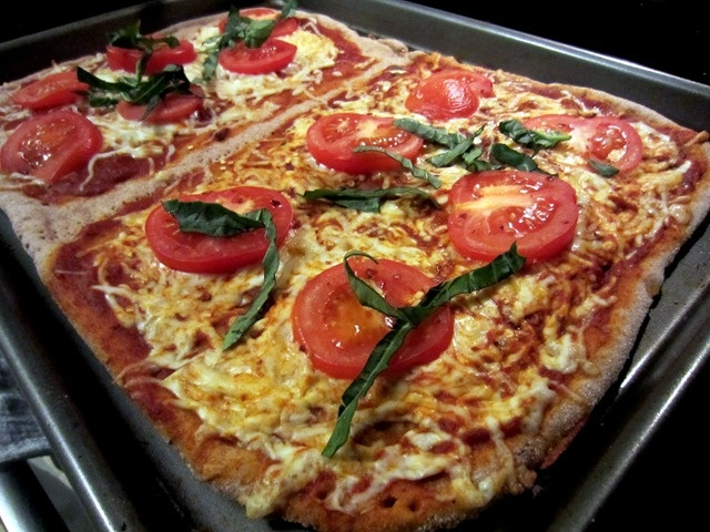 whole wheat pizza dough recipe yummly whole wheat pizza crust recipe ...