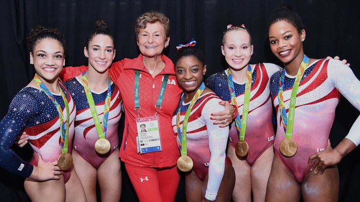 U.S. Olympic Team Retweeted USA Gymnastics @USAGym Aug 9 Martha and her… can't wait to see these girls this weekend!