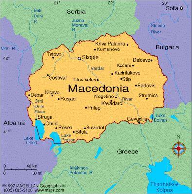 República de Macedonia Capital Skopje 2.062.294 habitantes (2013) idoma Macedonio Moneda Denar macedonio (MKD)