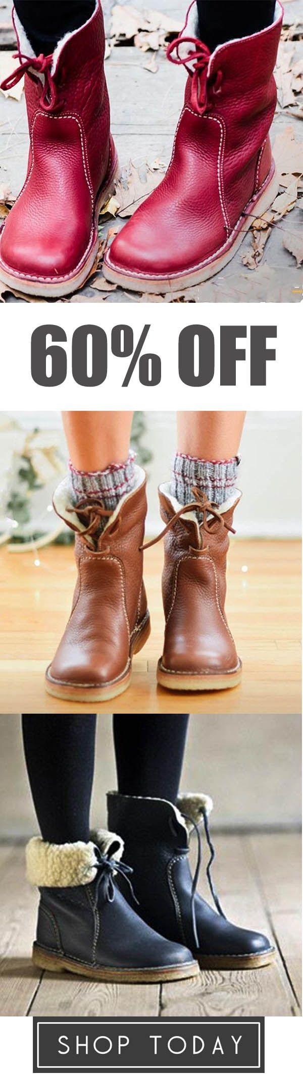 Judedress Super Soft Lapelable Boots