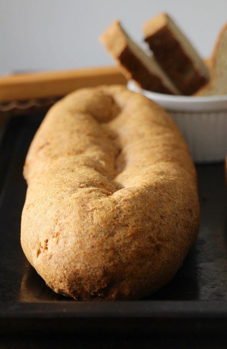 Pain à teneur faible en glucides (pain cétogène). Un rêve devenu réalité!