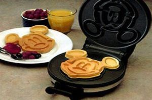 Mickey Mouse Waffle Maker http://everymomneeds.com/mickey-mouse-waffle-maker/