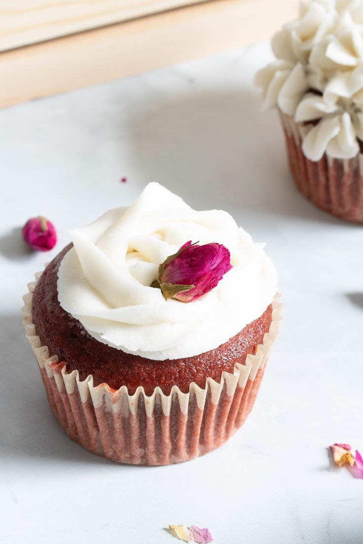 Vegan Red Velvet Cupcakes Vanilla Buttercream