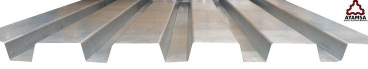 """Usos:  Exclusivamente para uso como sustrato resistente (deck) en la construcción de """"Cubiertas Compuestas"""". Fachada arquitectónica en: -Edificios -Centros comerciales -Naves industriales"""