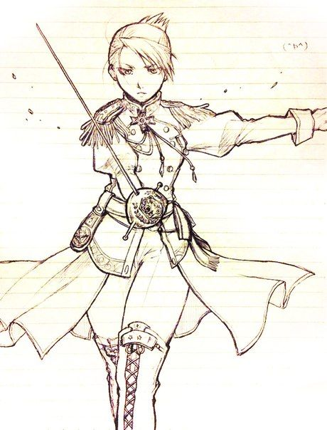 Riza Hawkeye....I love this :D This is like perfect.. I really wish I could draw like this. Maybe someday!