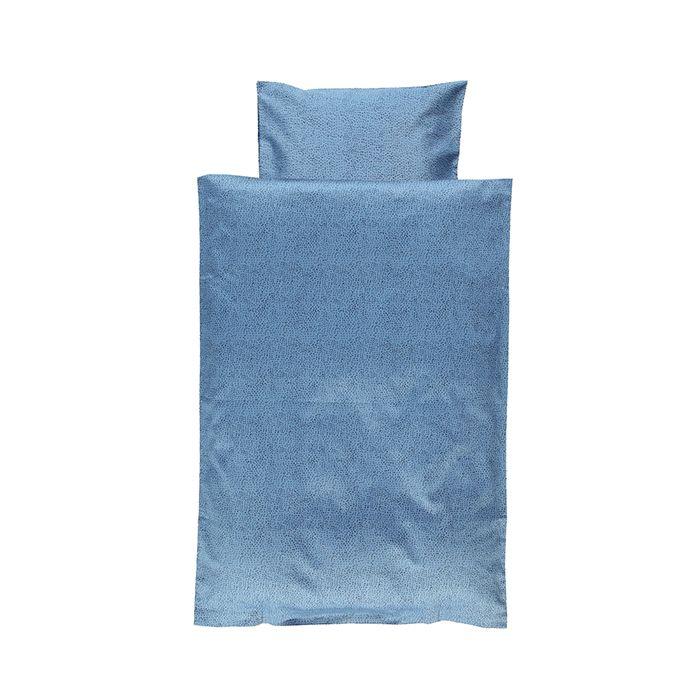 349,- Gro sengetøj baby junior adult aesthetic dots blue shadow blå