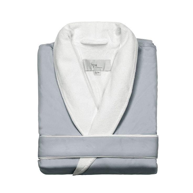 Spa Luxury Robe | Silver Sage