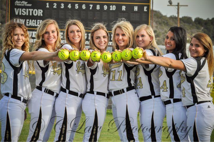 senior softball group photos   Junction Lady Eagle Softball Girls: Seniors' Group Photos   CLaw ...