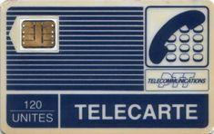 Une télécarte, pour téléphoner dans les cabines.