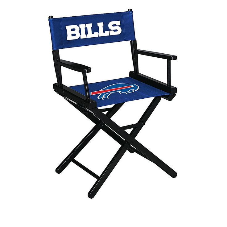 Officially Licensed NFL Table Height Director's Chair - Bills