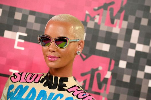 """""""Amber Rose has posed with no clothes on"""" Read more on Examiner at: http://www.examiner.com/article/amber-rose-has-posed-with-no-clothes-on"""