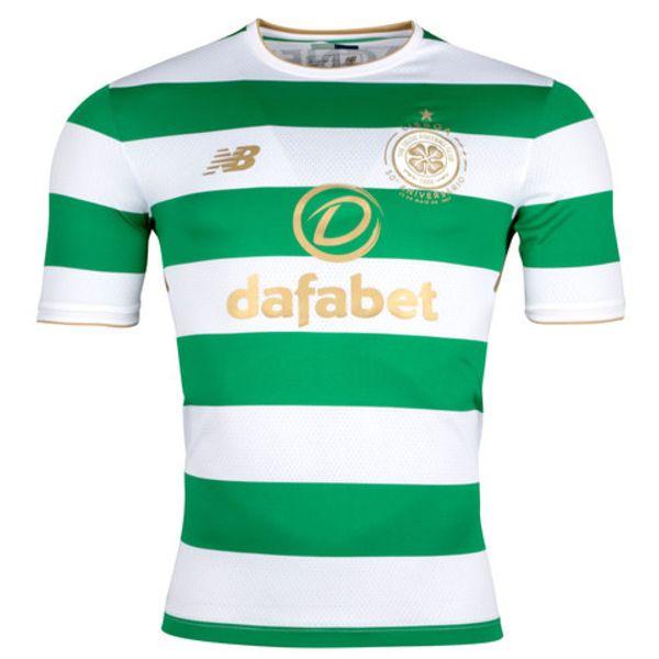 Maillot domicile Celtic 2017/2018 Le Maillot domicile Celtic 2017/2018 est ce que l'équipe de Glasgow va porter à domicile cette saison.Le nouveau kit Celtic s'inspire du plus grand club de Celtic, celui qui a remporté la Coupe d'Europe en 1967 et s'appelle lions de Lisbonne. Par conséquent, le kit maison Celtic 2017-18 présente les arcs […]