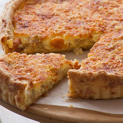 Cheese and onion quiche - Paarman